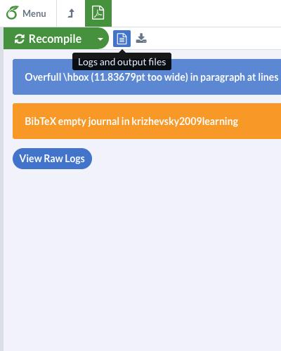 Uploading manuscript from Overleaf (ShareLaTeX) to arXiv | Mateusz Buda